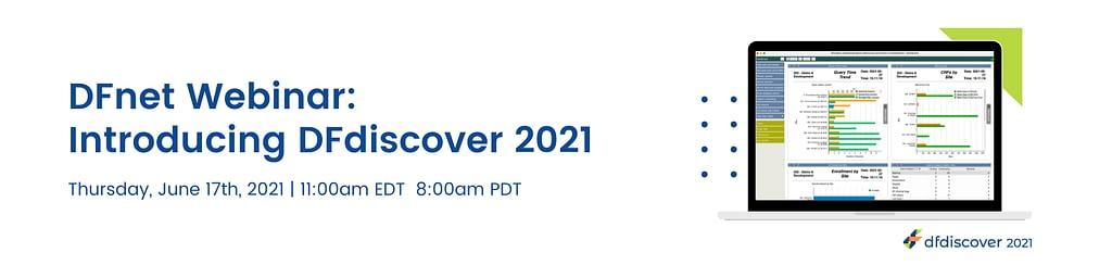 DFnet Webinar: Introducing DFdiscover 2021
