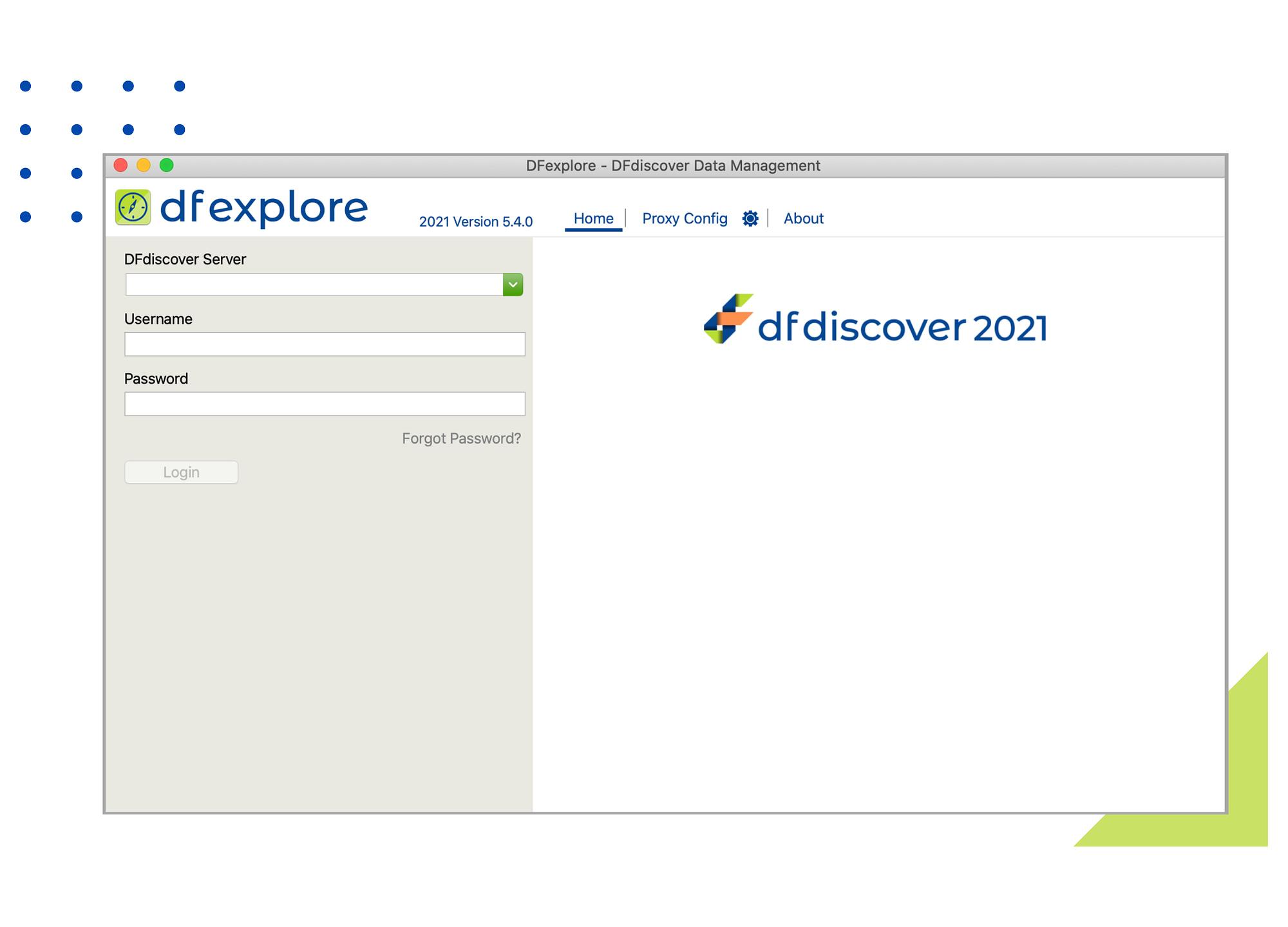 DFexplore website