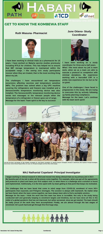 CVIA-078 Newsletter Vol 2 - 1